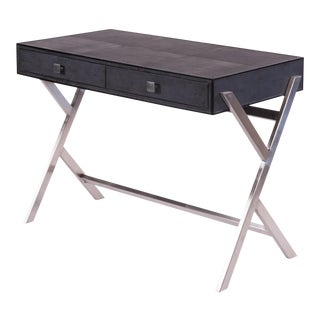 Sarreid Grey Shagreen Desk For Sale