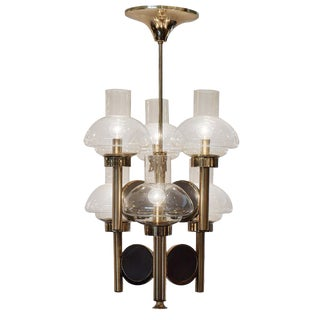 Vintage Italian Chandelier by Gaetano Sciolari For Sale