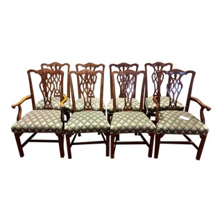 Henredon Chippendale Style Chairs - Set of 8 For Sale