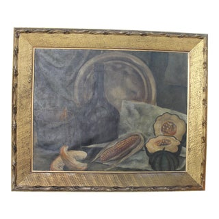 Vintage Still Life Painting For Sale