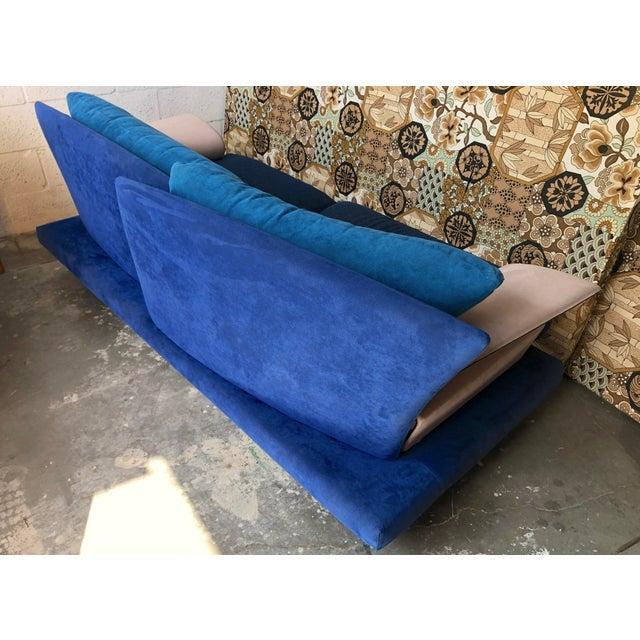 Giorgio Saporiti Post Modern Giorgio Saporiti Memphis Style Sofa For Sale - Image 4 of 13