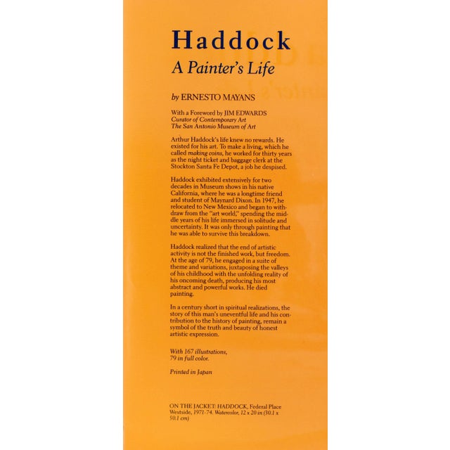 Paper Haddock: A Painter's Life - SIGNED For Sale - Image 7 of 8