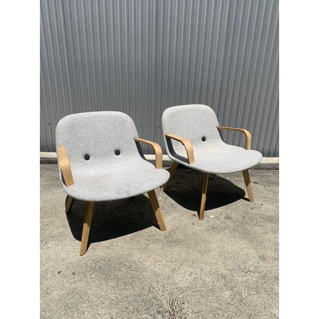 Wood Erik Jørgensen Eyes Lounge Chairs- a Pair For Sale - Image 7 of 7
