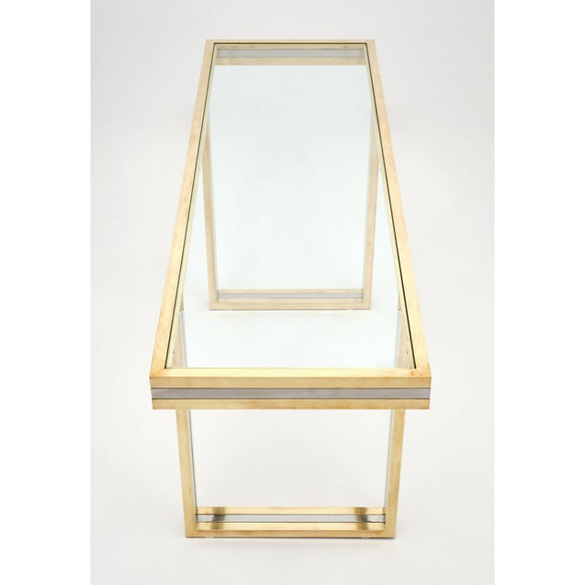 1970s Romeo Rega Signed Console Table For Sale - Image 5 of 10