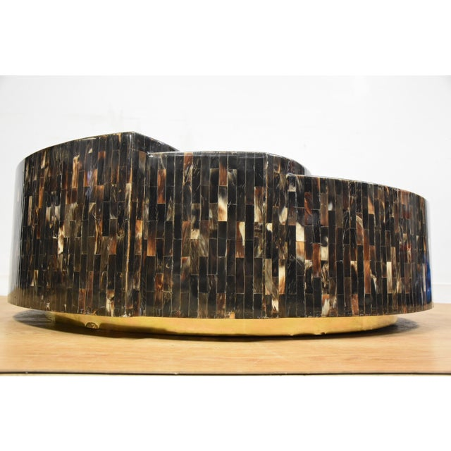 Tessellated Horn Coffee Table - Image 4 of 9