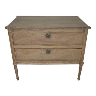 Early 19th Century French Bleached Directoire Commode For Sale
