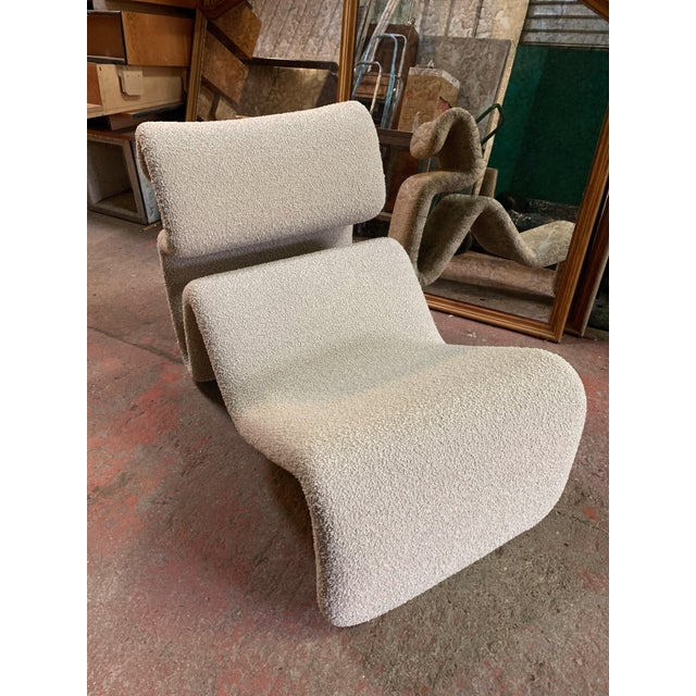 Fabric Etcetera Lounge Armchair by Jan Ekselius, Sweden, 1970s For Sale - Image 7 of 11