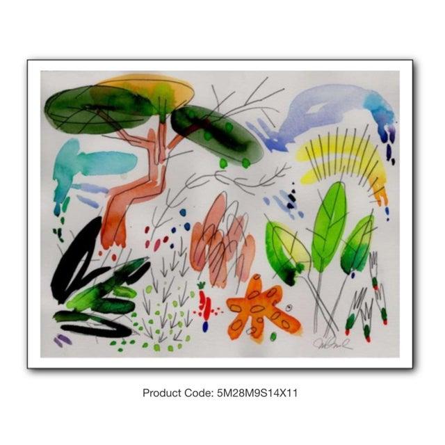 "Steve Klinkel Garden Set of Four Giclee Prints, 14x11"" For Sale - Image 4 of 6"