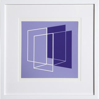 Josef Albers - Portfolio 1, Folder 26, Image 1 Framed Silkscreen For Sale