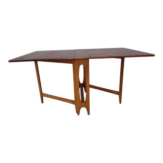 20th Century Danish Modern Iga of Norway Teak Table For Sale