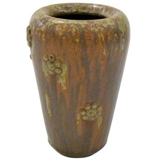 Scandinavian Mid-century Stoneware Vase by Arne Bang, Denmark, 1950s For Sale