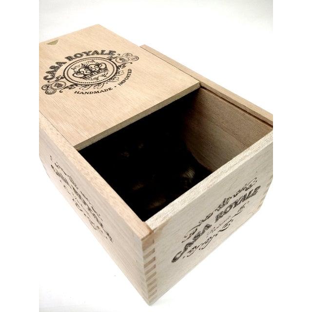 Vintage Cigar Jewelry Box - Image 4 of 10