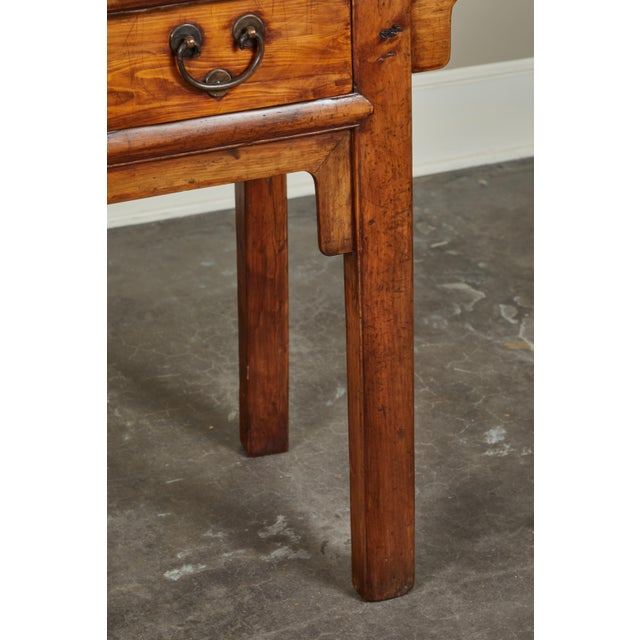 18th Century Antique Chinese Three Drawer Sideboard For Sale - Image 12 of 13