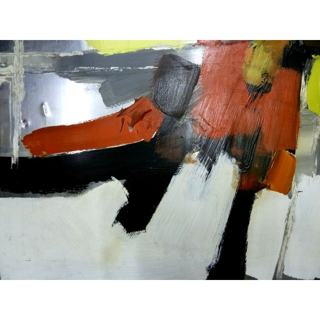 Risolia Original Abstract Oil Painting - Image 2 of 3
