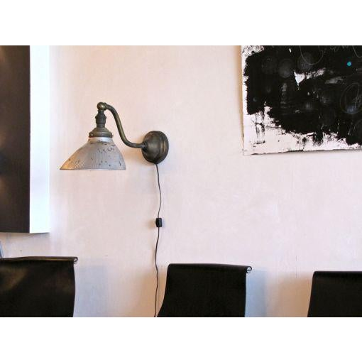 Mercury Glass Wall Light For Sale In Los Angeles - Image 6 of 10