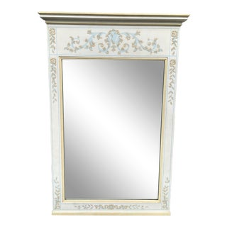 Vintage Johñ Widdicomb Painted Mirror For Sale