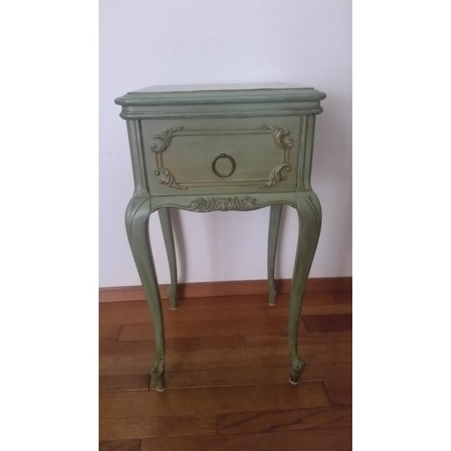 Early nineteenth century French Provincial style very rare end table, it is in almost perfect shape for its age. It is in...