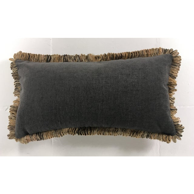 Italian Chenille Faux Leopard Pillows- a Pair For Sale - Image 4 of 6