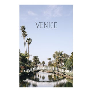"""Venice Canals"" Original Framed Photograph"
