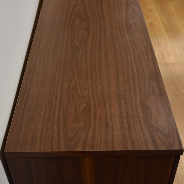 Stanley Walnut and Formica Dresser For Sale - Image 7 of 10