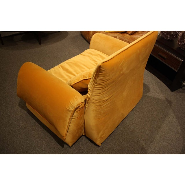 Saba Italia Lounge Chair For Sale - Image 5 of 8