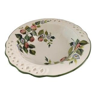 """Vintage """"Tiffany"""" Salad Bowl by Brunelli For Sale"""
