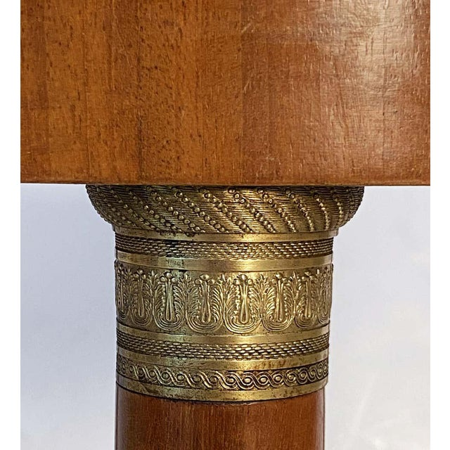 French Marble-Top Table or Guéridon in the Empire Style For Sale - Image 9 of 13