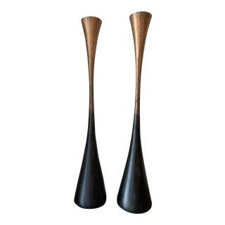 Vintage Michael Aram Candlesticks - A Pair For Sale