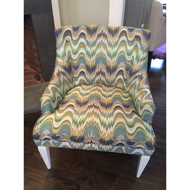 Jonathan Adler Haines Chairs - A Pair - Image 7 of 11