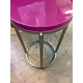 Contemporary Bernhardt Round Side Table Preview