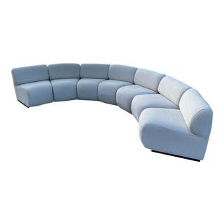 Mid Century 7 Piece Modular Sofa,1970's For Sale