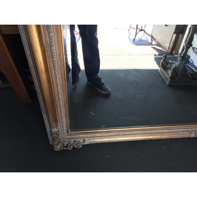 Large Gold Mirror For Sale - Image 10 of 13