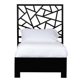 Tiffany Bed Twin Extra Long - Black For Sale