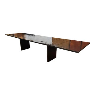 Restoration Hardware Wyeth Split Bamboo Dining Table For Sale