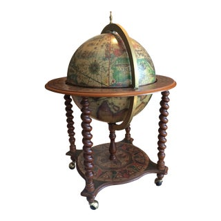 Mid-Century Modern Globe Bar For Sale