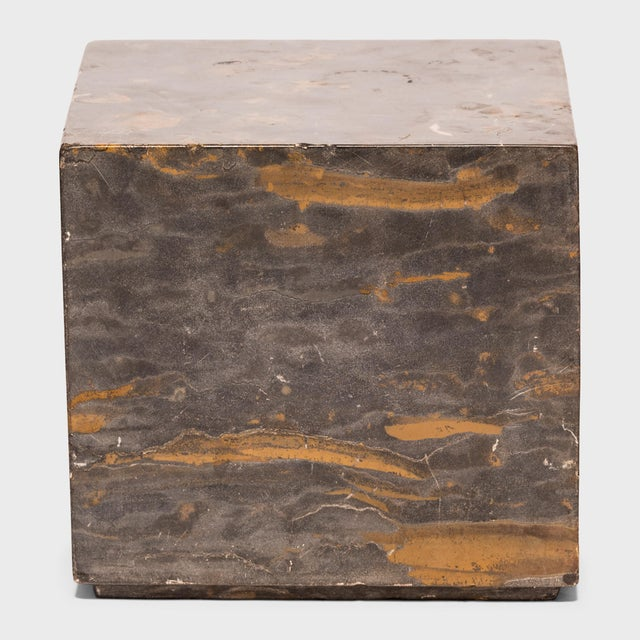 Asian Small Marble Doon Table For Sale - Image 3 of 6