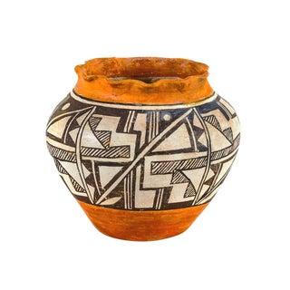 Acoma Pueblo Southwestern Olla Jar Signed Acoma For Sale