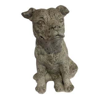 Cast Stone Dog For Sale