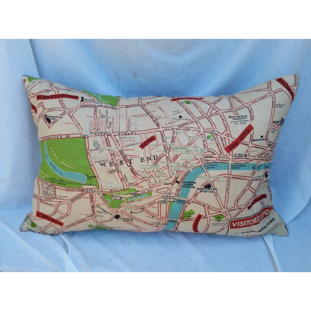 Old London Map Pillow - Image 2 of 6