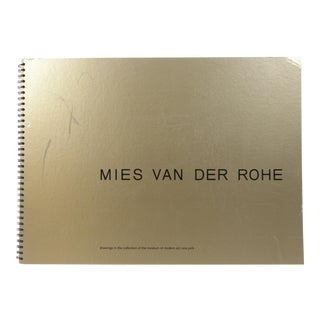 Mies Van Der Rohe: Drawings in the Museum of Modern Art Collection For Sale