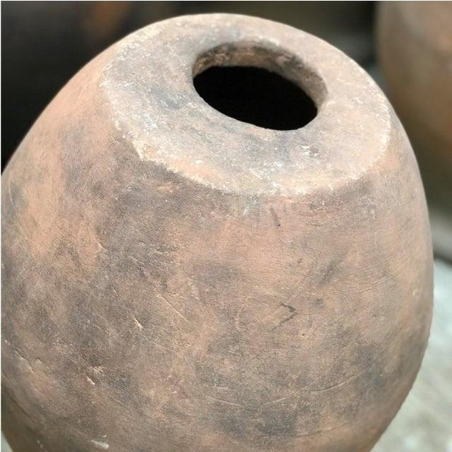 Sculptural Terracotta Vessel For Sale - Image 4 of 5