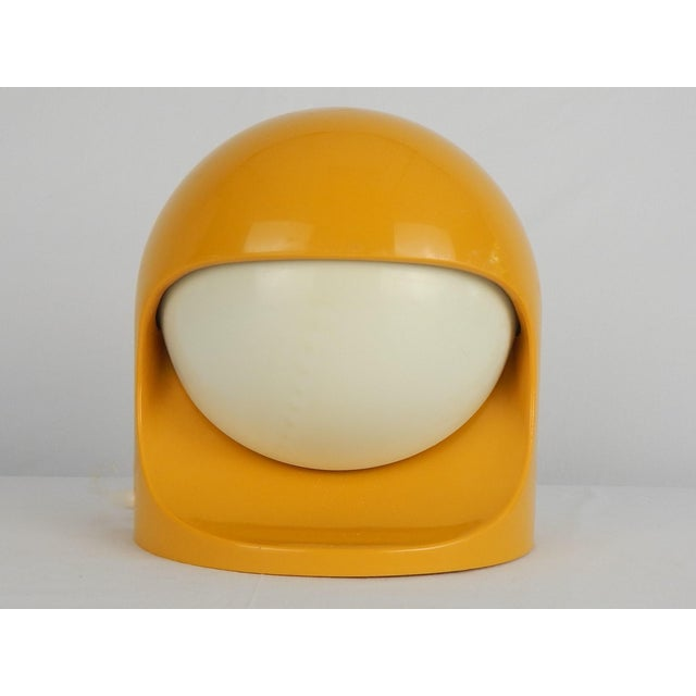 """Space Age Lightolier """"Interplay 2"""" Yellow Lamp For Sale - Image 13 of 13"""
