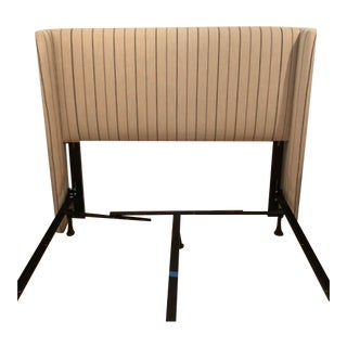 "Modern Wingback ""Kelly"" Queen Headboard For Sale"