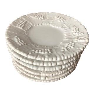 "Deruta ""Grappa"" Italian Faience Bread & Butter Plates-Set 6 For Sale"
