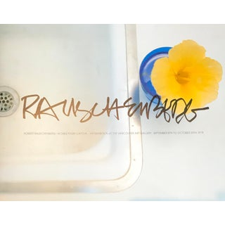 Robert Rauschenberg Works From Captiva, 1978 Exhibition Set, Rare + Collectable For Sale