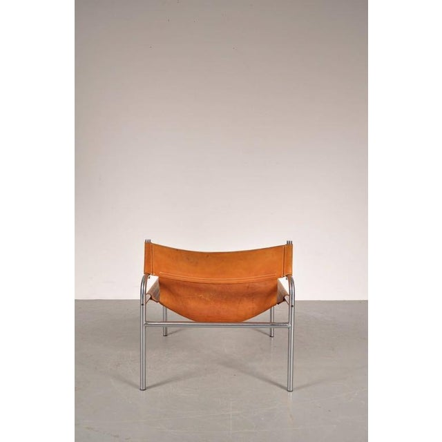 """Lounge Chair """"sz12"""" by Walter Antonis for Spectrum, Netherlands, circa 1970 - Image 8 of 9"""