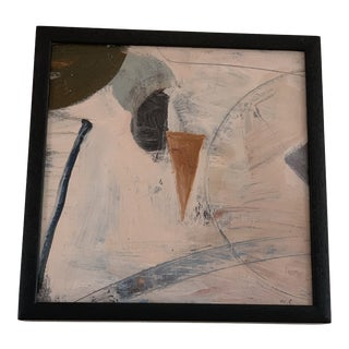 1980s William Conger Abstract Framed Painting For Sale