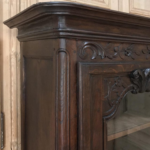 18th Century Country French Provincial Vitrine For Sale - Image 11 of 13