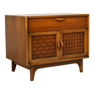 1960s Lane Perception Side Table Nightstand by Warren Church For Sale