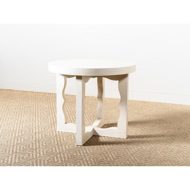 Modern Cyma Reverse Table For Sale - Image 6 of 6
